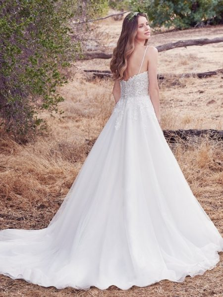 Back of Morocco Wedding Dress from the Maggie Sottero Cordelia 2017 Bridal Collection