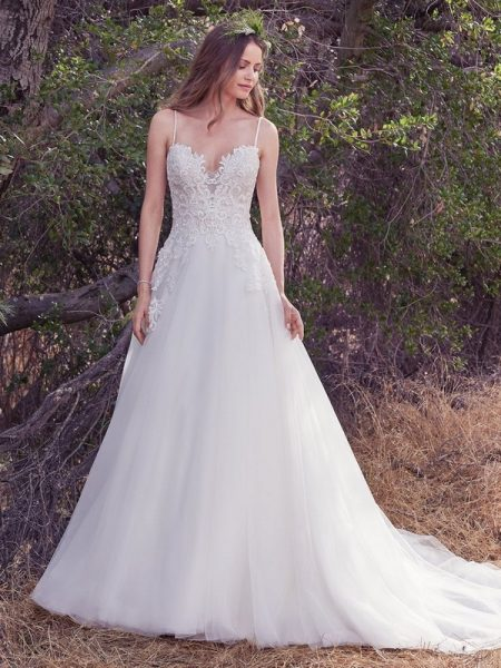 Morocco Wedding Dress from the Maggie Sottero Cordelia 2017 Bridal Collection