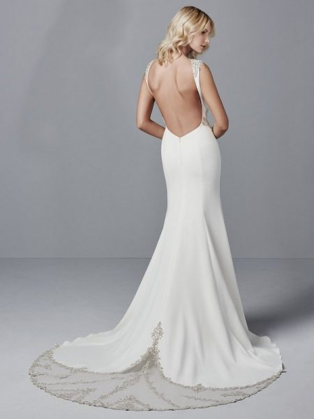 Back of Noah Wedding Dress from the Sottero and Midgley Grayson 2017 Bridal Collection