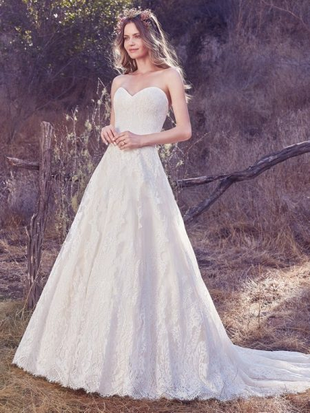 Olea Wedding Dress from the Maggie Sottero Cordelia 2017 Bridal Collection