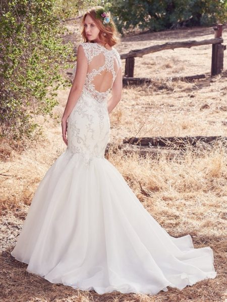 Back of Payson Wedding Dress from the Maggie Sottero Cordelia 2017 Bridal Collection