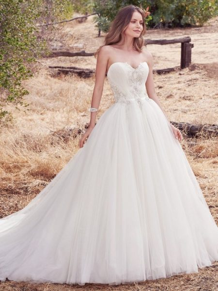 Priya Wedding Dress from the Maggie Sottero Cordelia 2017 Bridal Collection