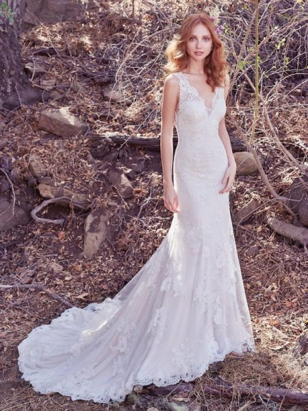Ramona Wedding Dress from the Maggie Sottero Cordelia 2017 Bridal Collection