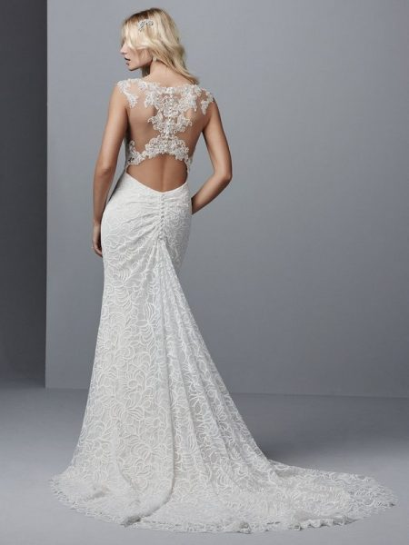 Back of Tasha Wedding Dress from the Sottero and Midgley Grayson 2017 Bridal Collection