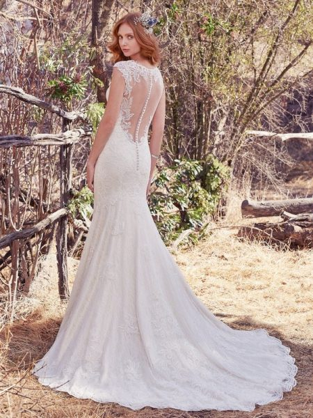 Back of Tilda Wedding Dress from the Maggie Sottero Cordelia 2017 Bridal Collection