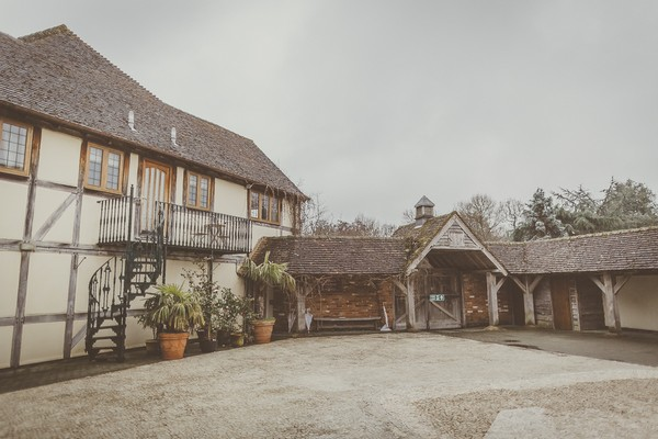 Rivervale Barn courtyard