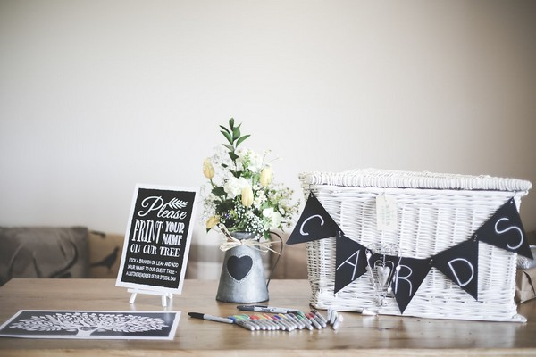 Wedding card table