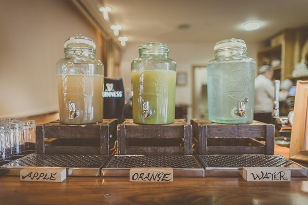 Glass drinks dispensers