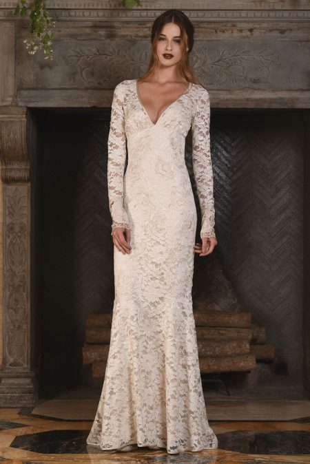 Amber Wedding Dress from the Claire Pettibone The Four Seasons 2017 Bridal Collection