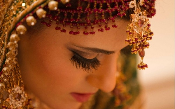 Bride with Asian Skin Tone
