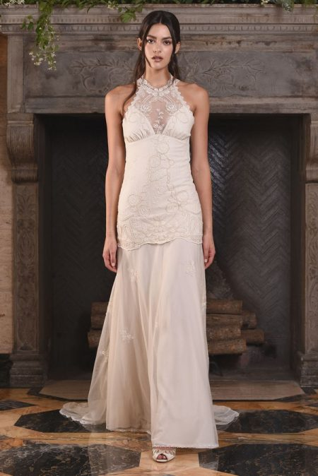 Athena Wedding Dress from the Claire Pettibone The Four Seasons 2017 Bridal Collection