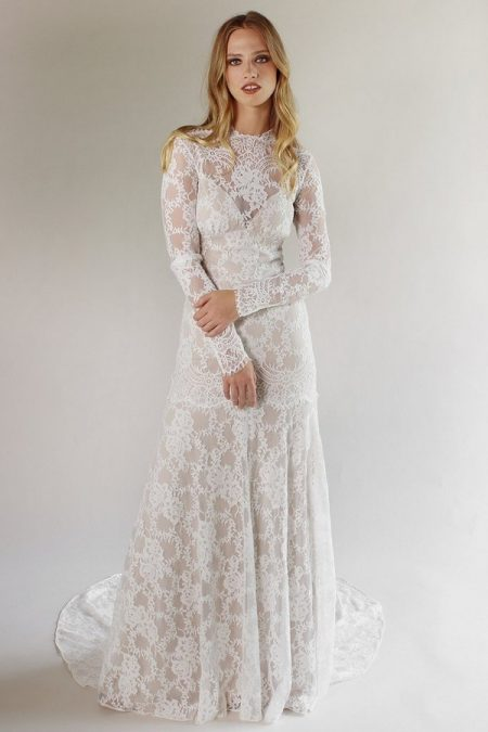 Beverly Wedding Dress from the Claire Pettibone Romantique California Dreamin' 2017 Bridal Collection
