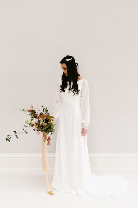 Bluebell wedding dress from the Rolling in Roses Cynthia Rose 2017 collection