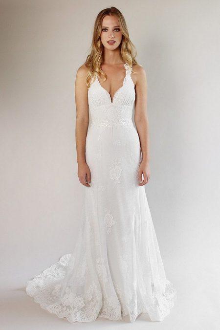 Carmel Wedding Dress from the Claire Pettibone Romantique California Dreamin' 2017 Bridal Collection