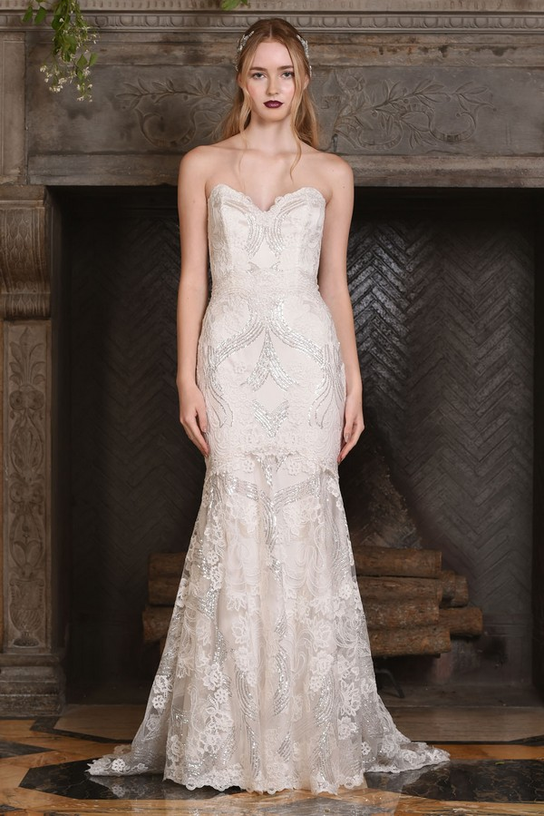 Celeste Wedding Dress from the Claire Pettibone The Four Seasons 2017 Bridal Collection