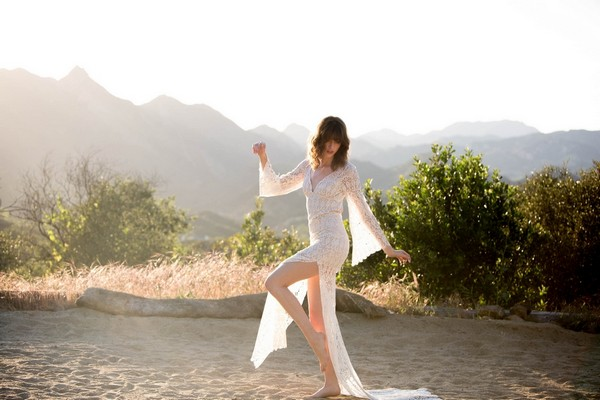 Coachella Wedding Dress by Claire Pettibone - Image from California Dreamin' Styled Shoot