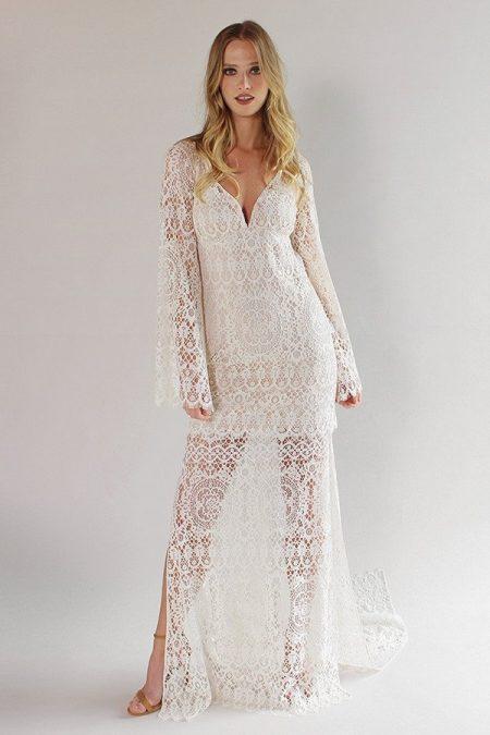 Coachella Wedding Dress from the Claire Pettibone Romantique California Dreamin' 2017 Bridal Collection