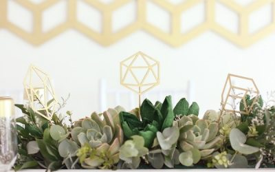 Metallic Wedding Table Styling Ideas
