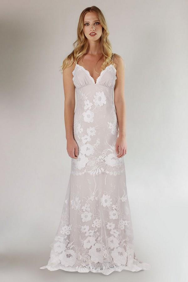 Del Rey Wedding Dress from the Claire Pettibone Romantique California Dreamin' 2017 Bridal Collection