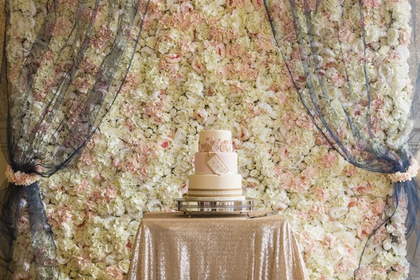 Flower Wall Wedding Backdrop from The Fab Gift Boutique