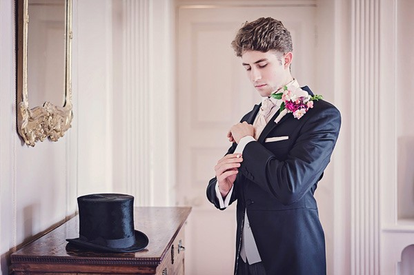 Groom with Top Hat and Tails