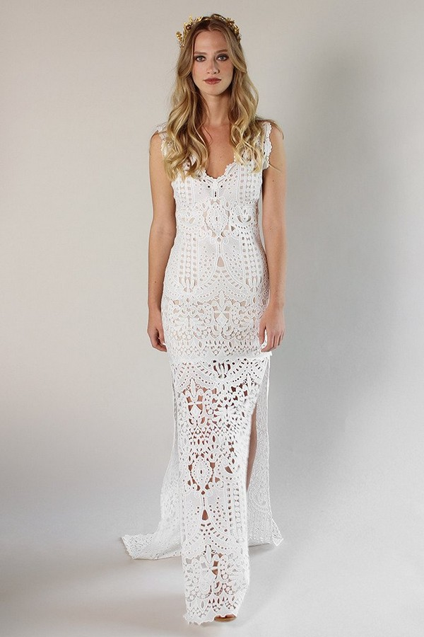 Laguna Wedding Dress from the Claire Pettibone Romantique California Dreamin' 2017 Bridal Collection