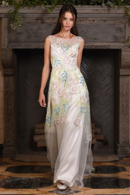 Maia Wedding Dress from the Claire Pettibone The Four Seasons 2017 Bridal Collection