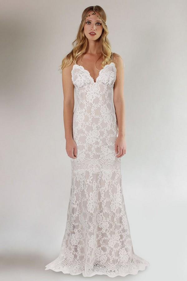 Marina Wedding Dress from the Claire Pettibone Romantique California Dreamin' 2017 Bridal Collection