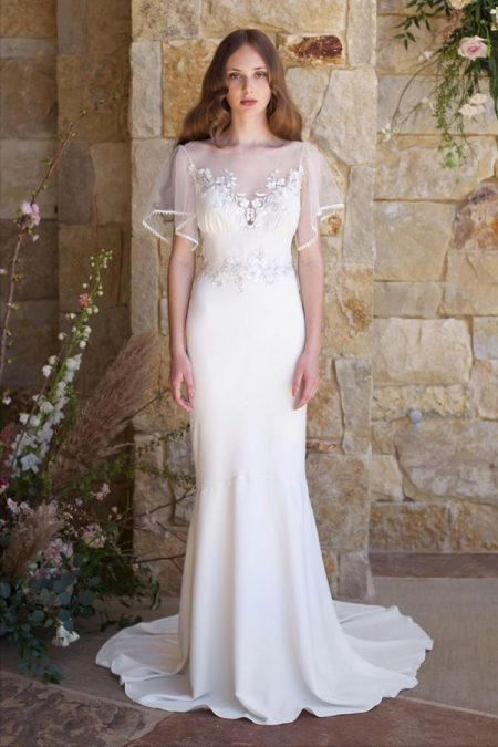 Merlot Wedding Dress from the Claire Pettibone Romantique The Vineyard Collection 2018