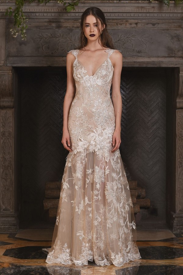 Noel Wedding Dress from the Claire Pettibone The Four Seasons 2017 Bridal Collection