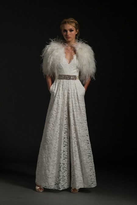 Noemia Wedding Dress from the Temperley Bridal Jasmin Winter 2017 Collection