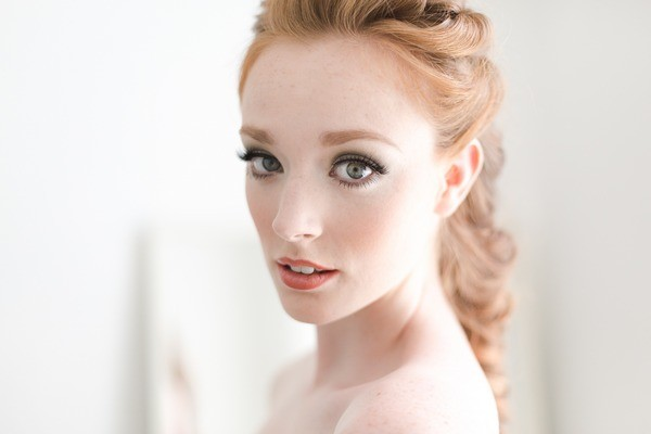 Bride with Pale Skin Tone