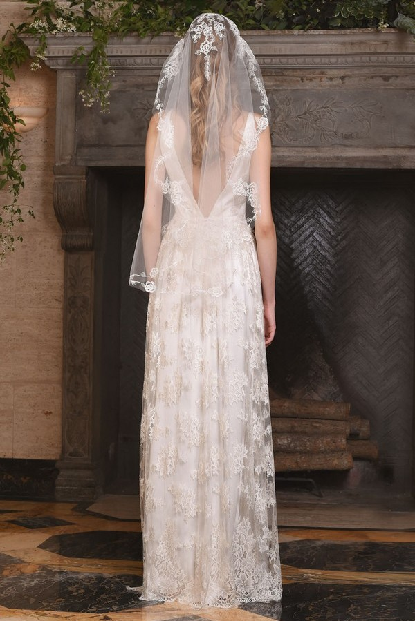 Back of Persephone Wedding Dress from the Claire Pettibone The Four Seasons 2017 Bridal Collection