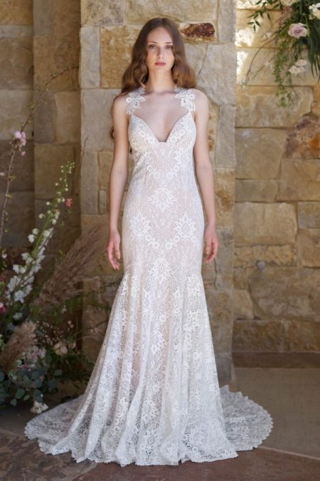 Saratoga Wedding Dress from the Claire Pettibone Romantique The Vineyard Collection 2018