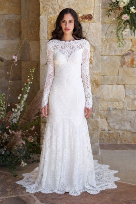 Shenandoah Wedding Dress from the Claire Pettibone Romantique The Vineyard Collection 2018