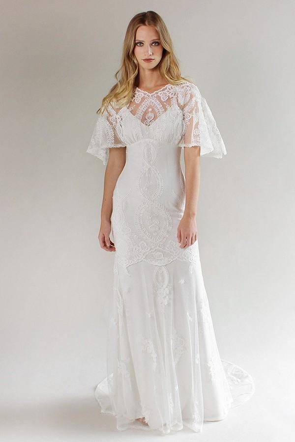 Silverlake Wedding Dress from the Claire Pettibone Romantique California Dreamin' 2017 Bridal Collection