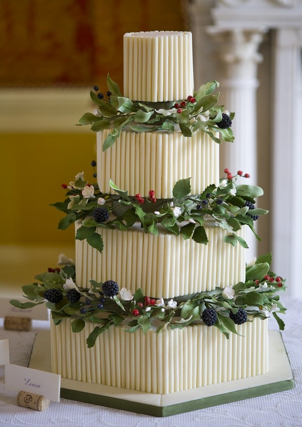 Sophie Festive Wedding Cake by GC Couture