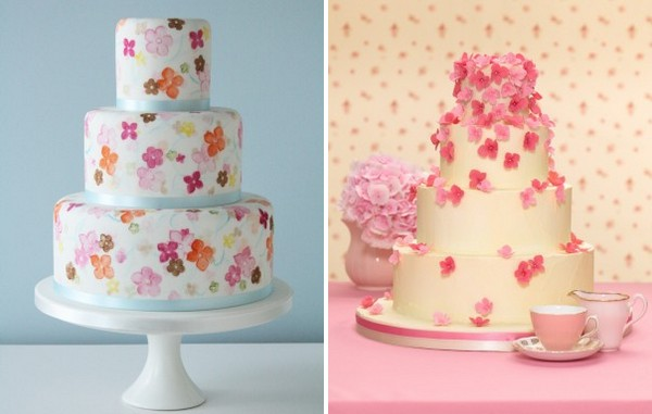 Seasonal Wedding Cakes
