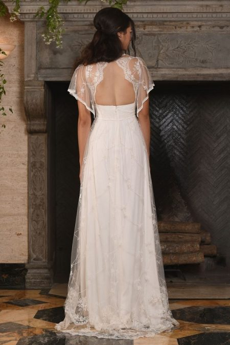 Back of Theia Wedding Dress from the Claire Pettibone The Four Seasons 2017 Bridal Collection