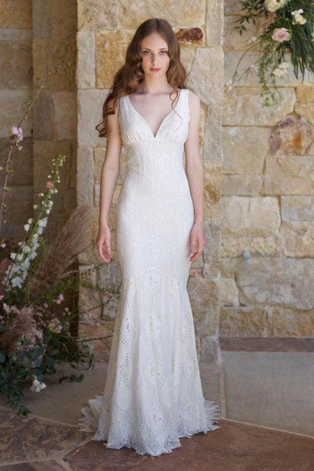 Toscana Wedding Dress from the Claire Pettibone Romantique The Vineyard Collection 2018
