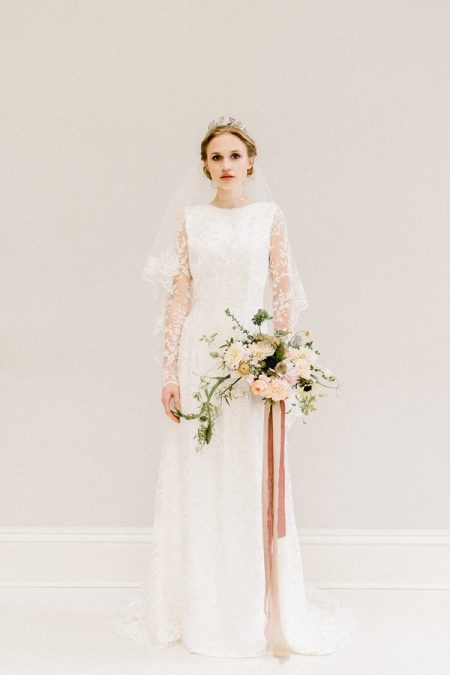 Violet wedding dress from the Rolling in Roses Cynthia Rose 2017 collection