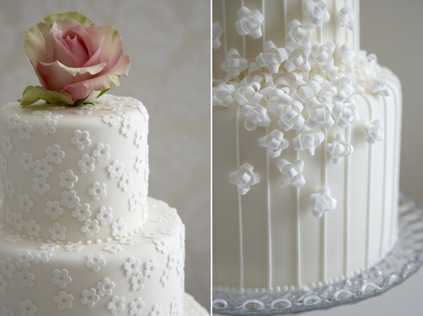 Wedding Cake Icing Ideas