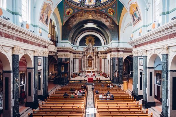 Inside St Aloysius Church, Glasgow