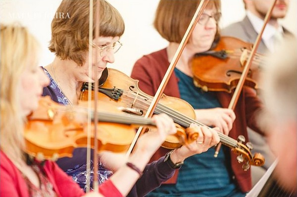 Classical Strings violinists