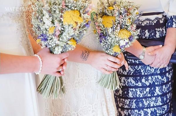 Brides' bouquets