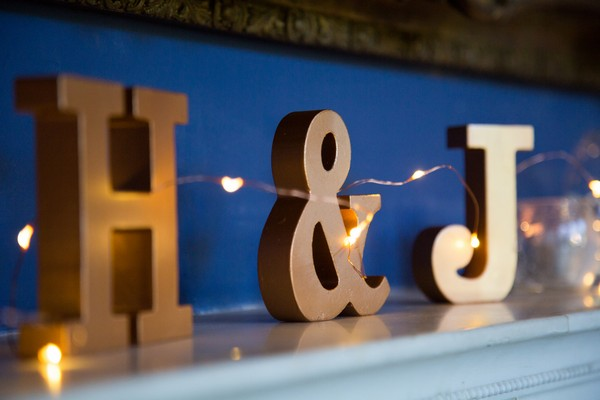 H and J letters