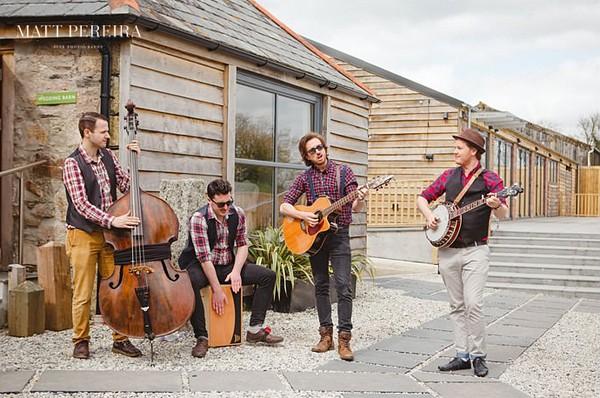Bluegrass wedding band