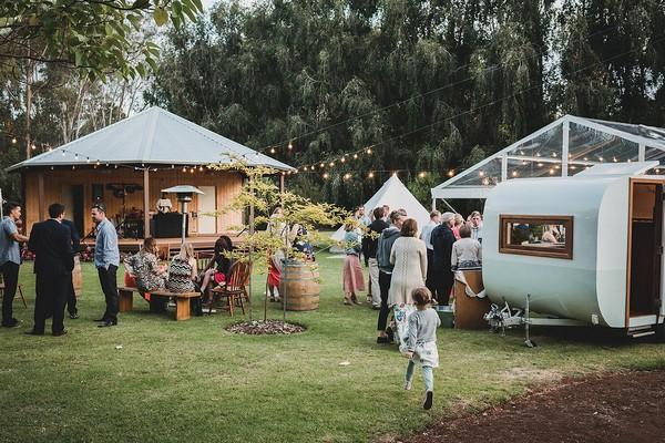Wedding party at Jalbrook Estate alpaca farm