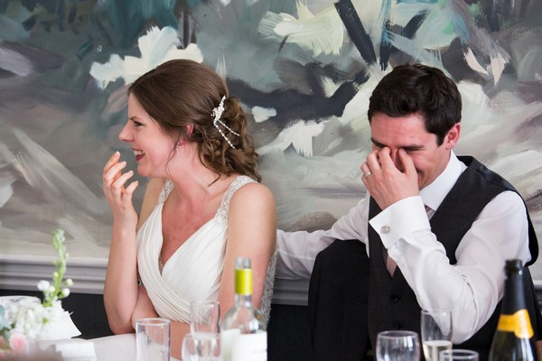Groom embarrassed by best man speech