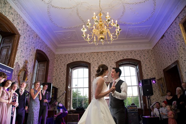 Wedding first dance at Kings Weston House